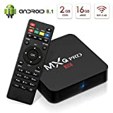 Newest Kingbox Android 8.1 TV Box, MXQ Pro 2GB/16GB(Support 32GB) Voice Control RK3229