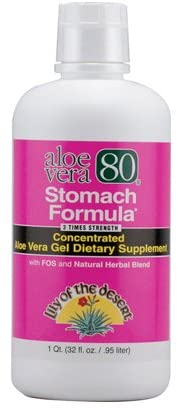 Pack of 3 Lily of The Desert Aloe Vera 80 Stomach Formula, 32 Ounce