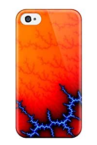 Faddish Phone Abstract Fractal Case For Iphone 4/4s / Perfect Case Cover