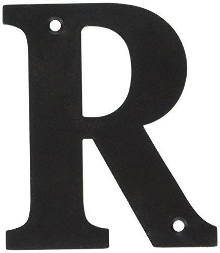 Deltana RL4R-10B 4-Inch Residential Letter R House Board