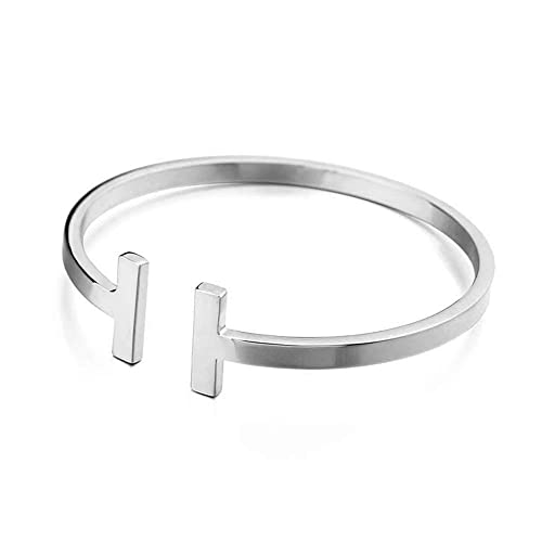 Amazon.com: Avery and May - Brazalete de acero inoxidable ...