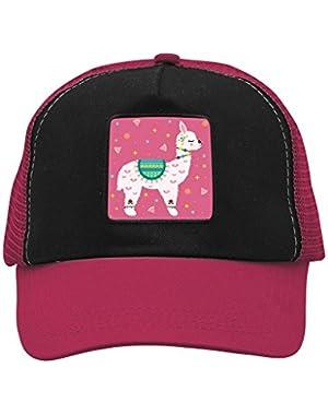 Unisex Pretty Llama Alpaca Adjustable Classic Hiphop Hat Baseball Cap Snapback Dad Hat