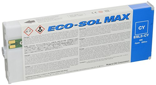 Roland Eco-Sol Max ESL3-4LM 220 Cyan Cartridge New