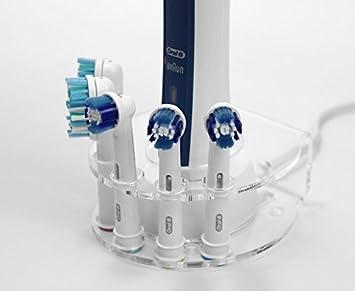 Soporte para 5 cabezales de cepillo de dientes eléctrico (varios colores): Amazon.es: Hogar