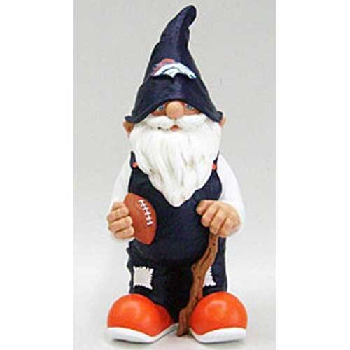 Denver Broncos NFL Garden Gnome