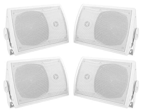 Home Theater Speaker Brackets - (4) Rockville HP5S-8 5.25