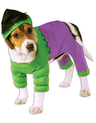 Rubie's Marvel Universe The Hulk Pet Costume, (Best Halloween Costumes 2016 For Dogs)