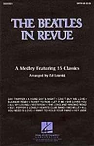 The Beatles: In Revue Medley (Instrumental Pack). Partituras para Trompeta(Dueto), Saxofón Tenor, Tombón, Guitarra, Guitarra Bajo, Batería