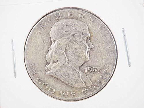 1953 D Franklin Silver Half Dollar Half Dollars ()
