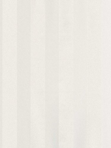 Norwall MS15970 Large Scale Stripe Wallpaper, Off White (Large Scale Stripe Wallpaper)