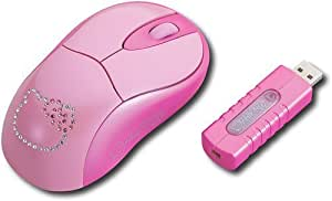Hello Kitty KT4092 Wireless Optical Mouse RF Wireless Technolgy MAC/PC/OS Compatible with windows