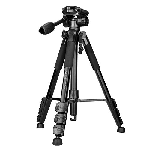 Everycom T1-Pro Professional Flexible Tripod for DSLR Digital Camera with Pan Head Carrying Bag