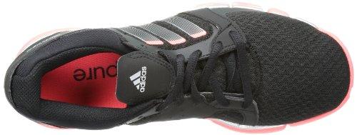 adidas adipure Tr 360 W - Zapatillas de gimnasia de material sintético mujer negro - Schwarz (Black 1 / Night Met. F13 / Red Zest S13)