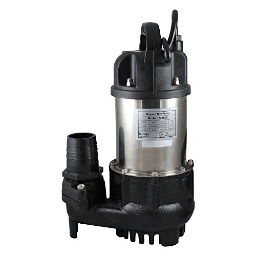 Matala GeyserFlow Submersible Pump (3/4 HP/ 4900GPH) with Free Protective Pump Bag ($30.00 Value)