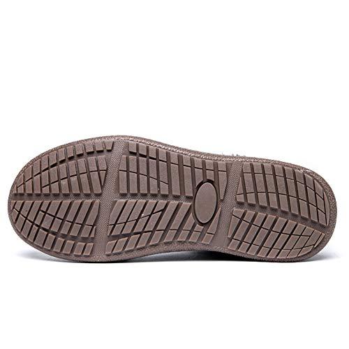 Stivaletti Pelliccia All'aperto Neve Stivali Blu WANPUL Caloroso Boots Scarpe Invernali Allineato Uomo Donna Antiscivolo wxI4nnqv0Z