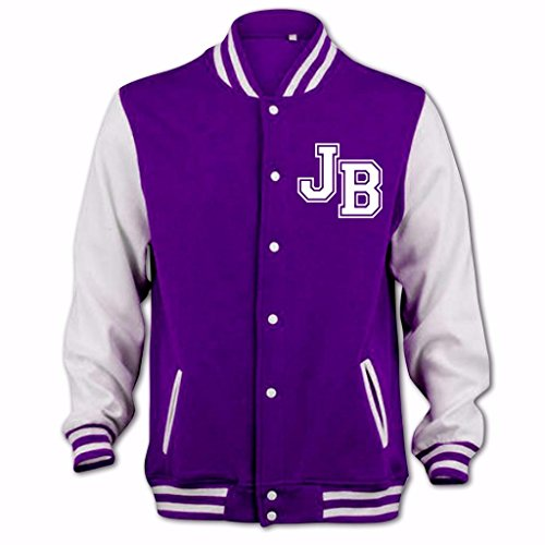 Blouson D'université Girlfriend Jb Tidy Violet Femme Clothing Bang tIw1Hqgp