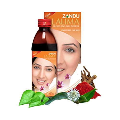 Zandu Lalima Blood and Skin Purifier Syrup X 2