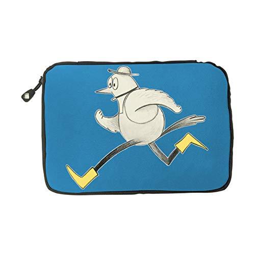 Solid color mood Birdy Bird,Fashion Cute Travel Advanced Electronics Accessories Organiser Bag Blue