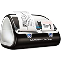 Labelwriter Twin Turbo Printer, 71 Labels/min, 8-1/2w X 7-1/5d X 5-1/5h By: DYMO