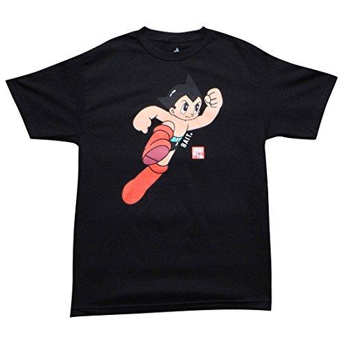 BAIT x Astro Boy Men Launch Tee (black) Size L US