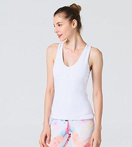 Binhee Femmes Yoga Wear Sexy sans Manches Athletic Speedy Running Vest