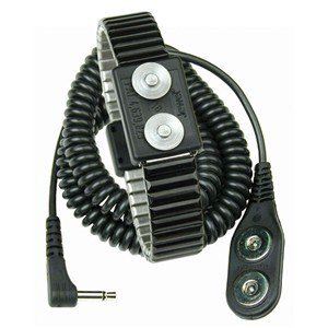 Desco Jewel Reusable Wrist Strap - Magnetic Socket - 19834 [PRICE is per EACH]