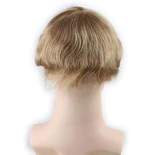 Dreambeauty Men S Toupee 10 215 8 Inch Human Hair Thin Skin