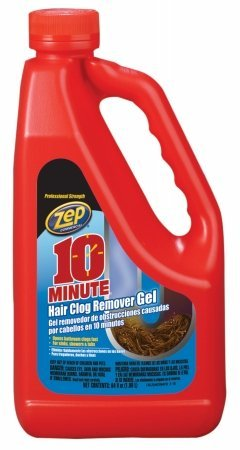 Zep Commercial ZHCR64NG6 64 Oz 10 Minute Hair Clog Remover