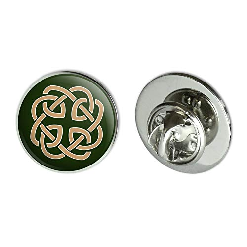 "GRAPHICS & MORE Celtic Knot Love Eternity Metal 0.75"" Lapel Hat Pin Tie Tack Pinback"