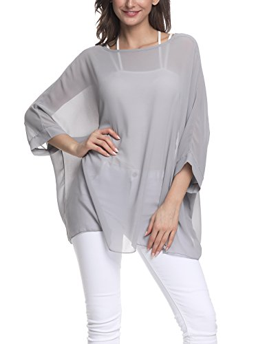 72abf2fa4af19d Nicetage Ladies' Chiffon Blouse Casual B..