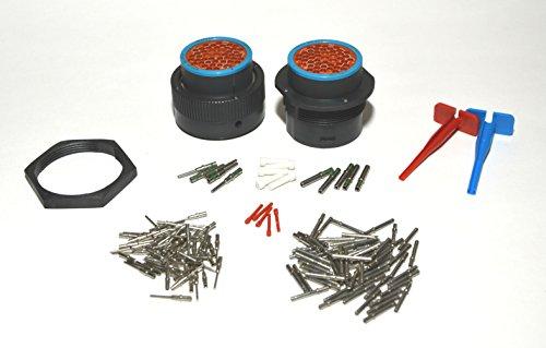 Deutsch hdp bulkhead pin connector kit