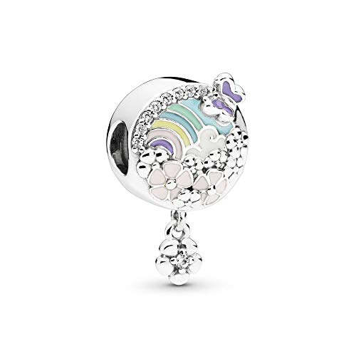 (PANDORA Flower Color Story 925 Sterling Silver Charm - 797999ENMX)