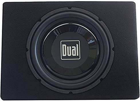 Amazon Com Dual Tbx10a 10 300 Watt Amplified Subwoofer And Box Electronics