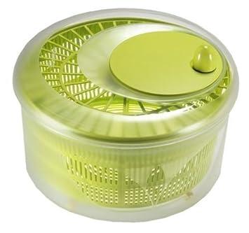 Takestop® Centrifugadora Seca Ensalada Lava Exprimidor Ensalada recipiente escurridor color aleatorio: Amazon.es: Hogar