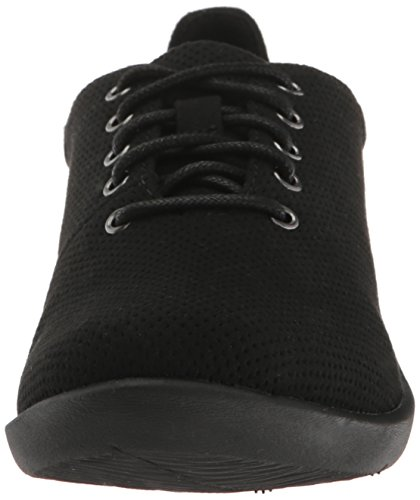 CloudStepper Microfiber Clarks Tino Shoe Women's Casual Sillian Perfed Black a8xTtxq