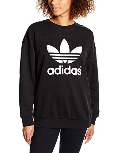 adidas Trèfle Sweat-shirt Femme Noir FR : S (Taille Fabricant : 38):  Amazon.fr: Sports et Loisirs