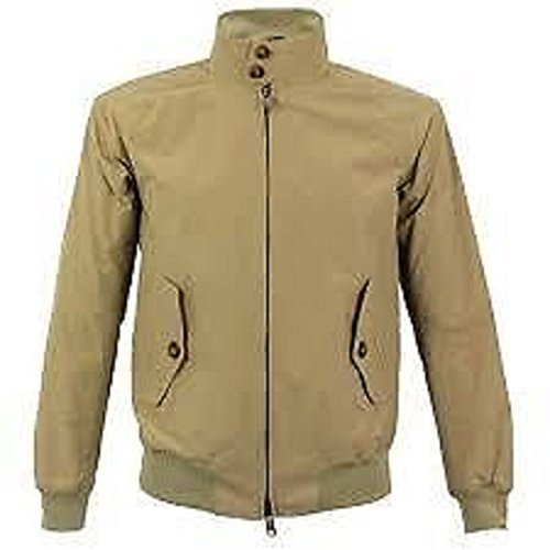 Da Giacca London L Merc Uomo Classic Harrington Tan Fw7xqFrn4X