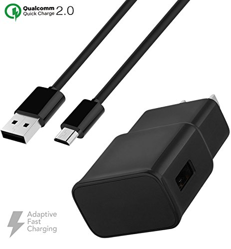 - Verizon Kyocera DuraForce Pro Charger Fast Micro USB 2.0 Cable Kit by Ixir - (Fast Wall Charger + Micro USB Cable)-BLACK