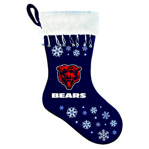 Boelter Brands NFL Chicago Bears Snowflake Stocking