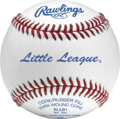 Rawlings Sport Goods RLLB1 Official Little League Baseball - Quantity 1 (League Rawlings Little Baseball Rllb1)