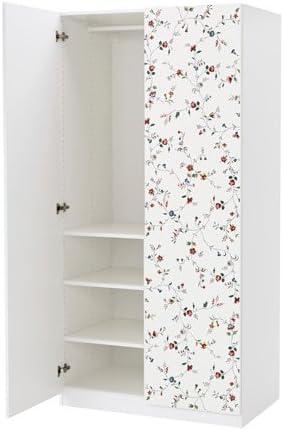 Ikea Guardaroba Pax Komplement Sistema Componibile.Ikea Armadio Bianco Marnardal 18204 2658 638 Motivo Floreale