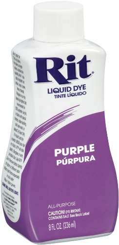 Rit Dye Liquid Fabric Dye, 8-Ounce,  Purple