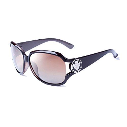 814c51c58c Nuevo Gafas De Sol Polarizadas Para Mujer Señoras Espejo Retro Clásico Lente  Gafas Wayfarer Gafas De