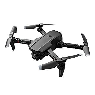 WJHWSX Foldable RC Drone Quadcopter RC Drone Quadcopter LSRC LS-XT6 Mini WiFi FPV with 4K/1080P HD Dual Camera Altitude Hold Mode RTF,Easy to use for beginer