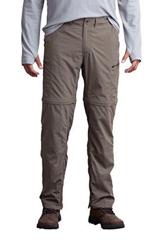 Shorts Ex Hiking Officio (ExOfficio Men's Sol Cool Camino Convertible Pants, Cigar, 32)
