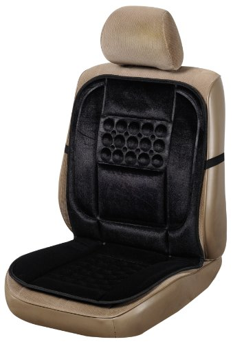 Allison 20-2169 Black Lumbar Massage Seat Cushion