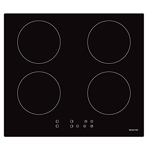 Cookology CIP613 Plug-in Induction Hob | 60cm, Black, Built-in, 13 Amp