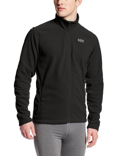 Helly Hansen Men's Daybreaker Lightweight Full Zip Fleece Jacket, 990 Black, Large by Helly Hansen