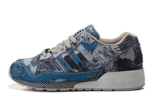 AdidasOG Adidas Originals ZX 710 Retro Running Shoes Blue Grey Sz 8 store cheap price wide range of for sale free shipping comfortable low price fee shipping cheap price outlet latest collections 1f52Uc7
