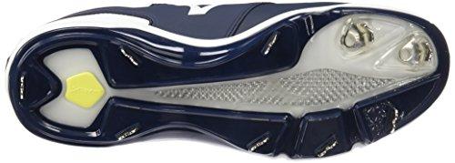 Mizuno Dominante Ic Mi Baseball Chaussure Blanc Marine